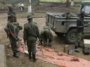 В Конго офицера уволили за пьянство с врагами