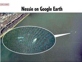 Британец увидел лохнесское чудовище с помощью Google Earth