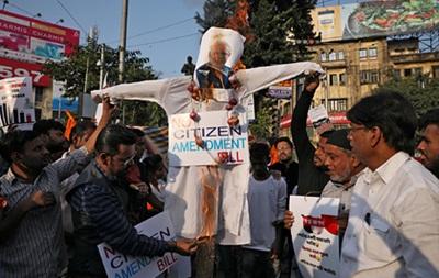 В Индии вспыхнули протесты из-за выдачи гражданства немусульманам