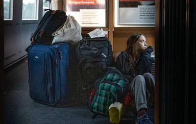 Грета Тунберг пожаловалась на немецкие железные дороги