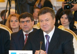 Янукович: Украина планирует расширить свое участие в СНГ