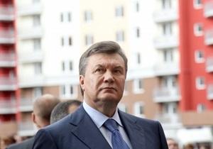 Янукович: В 2012 году во всех квартирах должны быть счетчики на воду и тепло