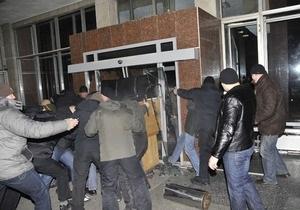 Луценко: Задержаны 20 человек, которые вместе с депутатами от ПР захватили комбинат Украина