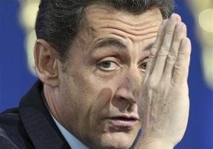 Саркози сделали прививку от гриппа А/H1N1