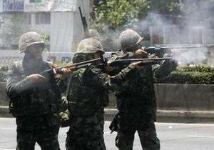 Число жертв столкновений в Бангкоке приближается к 20