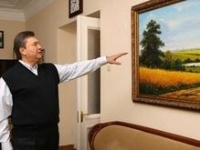 Янукович пишет предисловие к книге о древней технике живописи