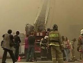 Пожар в игровом клубе в центре Москвы ликвидирован