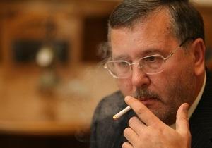 Гриценко призвал оппозицию вместе выступить против  пакта Януковича-Медведева