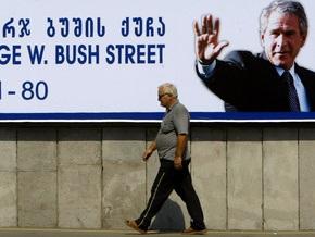 Грузинская оппозиция потребует переименовать улицу Джорджа Буша в Тбилиси