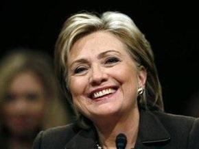 Сенат утвердил Хиллари Клинтон на посту госсекретаря США