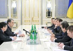 Ющенко намерен сегодня же сменить руководство правоохранительных органов