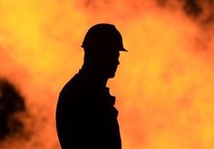 В Луганской области горит шахта, проводится эвакуация