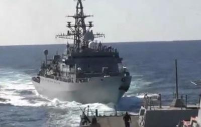 Корабли РФ и США опасно сблизились в Аравийском море
