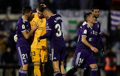 Лунін вивів Вальядолід в 1/16 Кубка Іспанії, ставши героєм серії пенальті
