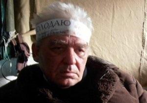 Власти заявляют, что участник акции чернобыльцев в Донецке  умер естественной смертью