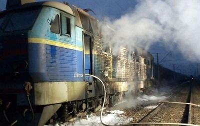 На Чернігівщині горіла електричка