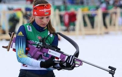 Украина завоевала бронзу в одиночной смешанной эстафете на Кубке IBU