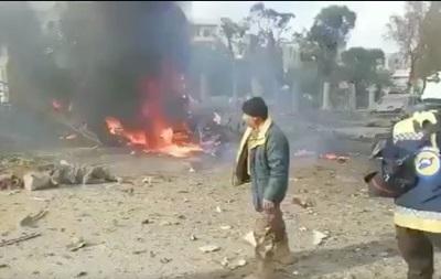 Авиаудары в сирийском Идлибе: много жертв