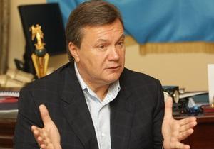 Янукович заявил, что Хмельницкий сохранил независимость Украины
