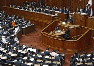Японский депутат подал в отставку за то, что проголосовал вместо своего коллеги