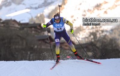 Биатлон: украинец Ткаленко выиграл медаль Кубка IBU