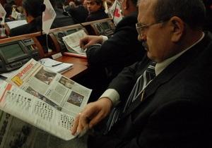 Оппозиция опасается, что Киевсовет может продлить аренду земель, розданных на скандальной сессии в 2007 году