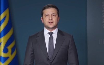Зеленский поздравил украинцев с Днем соборности