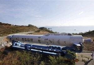 Новая попытка запуска южнокорейской ракеты KSLV-1 может состояться в январе