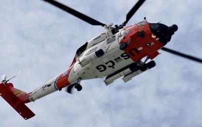 Военный вертолет США сел на воду в Японии