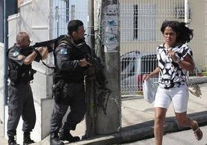 Противостояние полиции и бандитов в Рио-де-Жанейро: число жертв достигло 37 человек