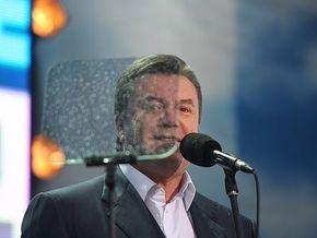 Партия регионов выдвинула Януковича кандидатом в президенты