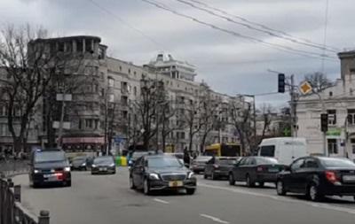 Эрдоган передвигался по Киеву в кортеже из 19 авто