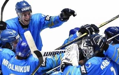 Украинские хоккеисты проиграли Казахстану в олимпийской квалификации