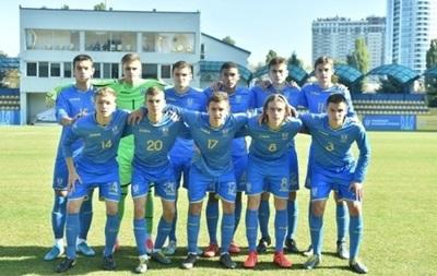 Україна U-17 зіграла внічию з Англією