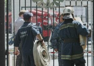 Пожар на складах самого большого киевского секонд-хенда локализовали
