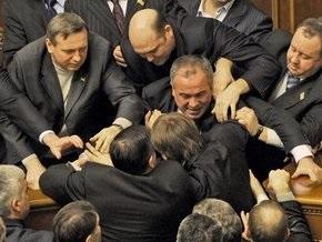 Охранники Литвина подрались с депутатами
