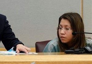 Американку, избившую двухлетнюю дочь бутылкой из-под молока, приговорили к 99-ти годам тюрьмы