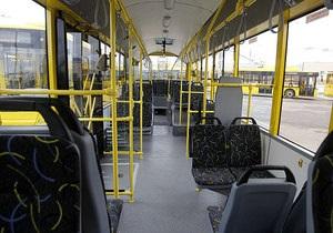 В киевских троллейбусах  установили камеры наблюдения