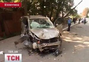 В Жмеринке пьяный водитель сбил насмерть мужчину и его дочь