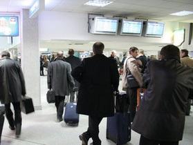 В аэропорту Борисполь отменили зеленый коридор