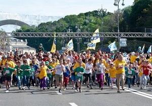 В честь Дня Киева состоится ежегодный Пробег под каштанами