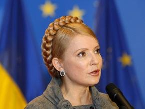 Тимошенко в Брюсселе встретилась с Берлускони и Туском