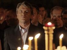 Ющенко в Пасхальную ночь посетит четыре храма