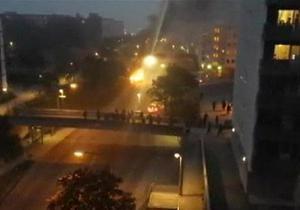 В Стокгольме продолжаются массовые беспорядки