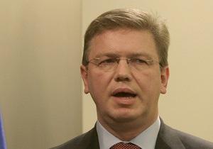 Ъ: Украину с экстренным непубличным визитом посетит комиссар по вопросам расширения ЕС