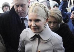 Генпрокуратура вызывает Тимошенко 18 и 19 января
