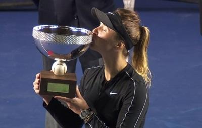 Свитолина выиграла турнир в Монтеррее
