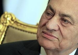 Швейцария решила заморозить активы, которые могут принадлежать Мубараку