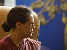 Активисты правящей партии Индии подрались на глазах у Ганди