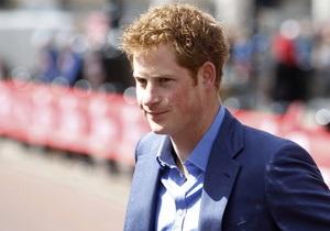Королевский дворец отказался преследовать таблоид Sun за фото голого принца Гарри